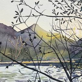 March Sunset - Malibou Lake  by Luisa Millicent