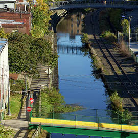 Manayunk Canal  by Clay Cofer