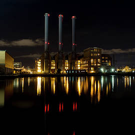 Manchester Street Power Station Full Color by Andrew Pacheco
