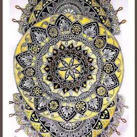 Mandala Charm by Somila Chakraborty
