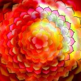 Mandala of joy by Ekaterina Yakshina