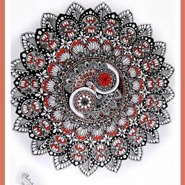 Mandala Yin and Yang by Somila Chakraborty