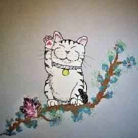 Maneki Neko Cat Japanese Legend by Lynn Raizel Lane
