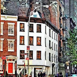 Manhattan NY - Waverly Place Greenwich Village by Susan Savad