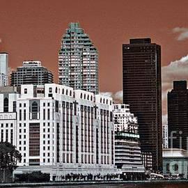 Manhattan Skyscrapers by Marcia Lee Jones