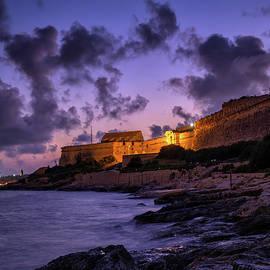 Manoel Island and Fort at Twilight in Malta by Artur Bogacki