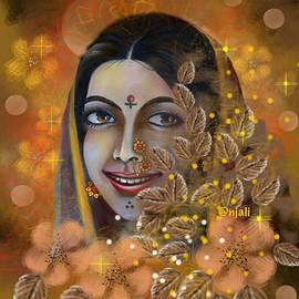 Marathi beautiful lady  by Anjali Swami