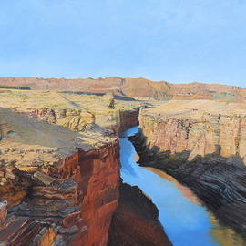 Marble Canyon by Barbara Barber