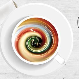 Marble Latte by Ree Streety