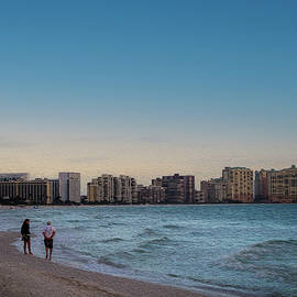 Marco Island's Crescent Beach by Debra Kewley