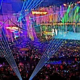 Mardi Gras Super Dome by Kenneth Keller