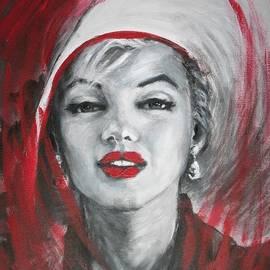 Marilyn - Portrait by Carmen Tyrrell