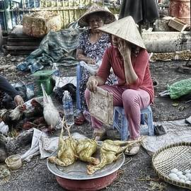 Market In Ho Chi Minh City by Toni Abdnour