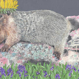 Marmots are the best by Marla Saville
