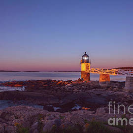 Marshall Point Lighthouse Sunrise by Diane Diederich