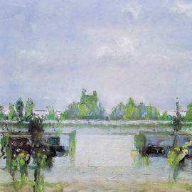 Marshlands by the sea by Gary Williams