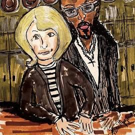 Martha And Snoops Potluck Dinner Party by Geraldine Myszenski