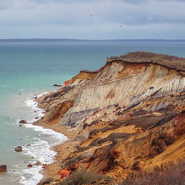 Martha's Vineyard Aquinnah Cliffs by Juergen Roth