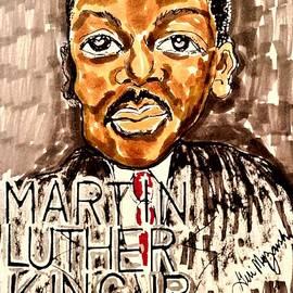 Martin Luther King Jr I Have A Dream  by Geraldine Myszenski