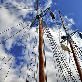 Masts #1  by Robert McCulloch