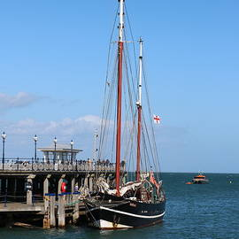 Masts in Swanage by Michaela Perryman