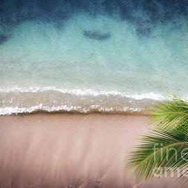 Maui Reef Aqua Tide by Michele Hancock Photography