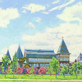 May. Wooden palace prisons of Tsar Alexei Mikhailovich  by Simon Kozhin