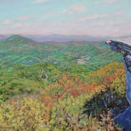 McAfee Knob - Appalachian Trail, Catawba VA Highlight by Bonnie Mason