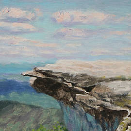 McAfee Knob - On the Appalachian Trail by Bonnie Mason