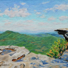 McAfee Knob - Springtime on the Appalachian Trail by Bonnie Mason