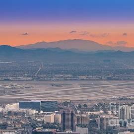 McCarran airport Las Vegas by Darrell Foster