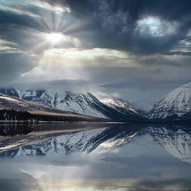 McDonald Lake Sunbreak by Wes and Dotty Weber