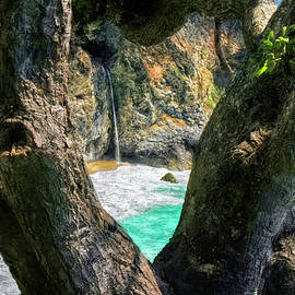 McWay Falls Framed by Donna Kennedy