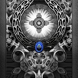 MechTron One Abstract Digital Art by Xzendor7