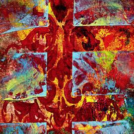 Medieval Cross by Cynthia Fletcher