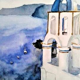 Mediterranean Blues by Elena Wise
