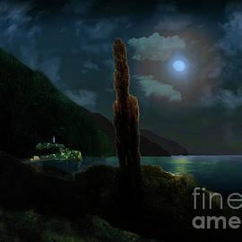 Mediterranian Moonshine by Lutz Roland Lehn