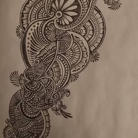 Mehendi art by Noopur Parihar