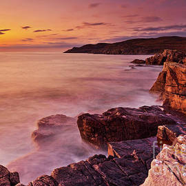 Mellon Charles coastline, Wester Ross, Scotland by Neale And Judith Clark