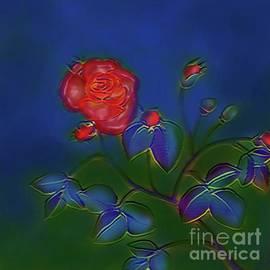 Melodious Rose by Latha Gokuldas Panicker
