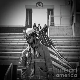 Memorial Stair Climb by Frank Kapusta