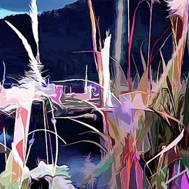 Memories of Bougainville Island Jaba River by Joan Stratton