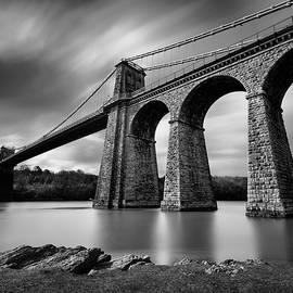 Menai Suspension Bridge by Dave Bowman