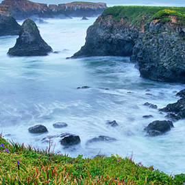 Mendocino Headlands, California  by Zayne Diamond Photographic