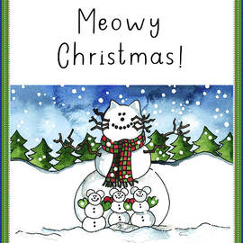 Meowy Christmas by Shelley Wallace Ylst