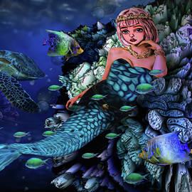 Mermaid Princess of the Sea by Artful Oasis