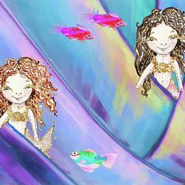 Mermaids in a Pocket Reef by Rosalie Scanlon