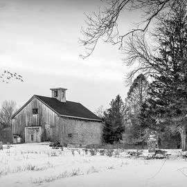 Merrill Farm in Winter by Betty Denise
