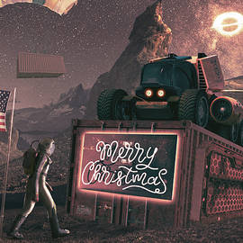 Merry Xmas Care Package  by Vincent Holt