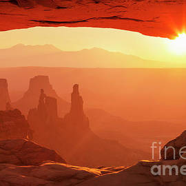 Mesa Arch at Sunrise by Neale And Judith Clark